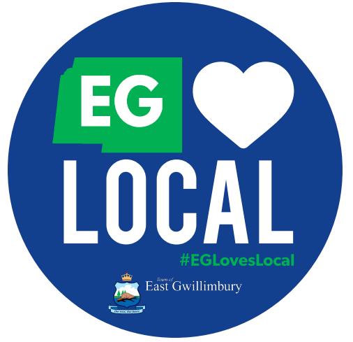 EG Loves Local Sticker