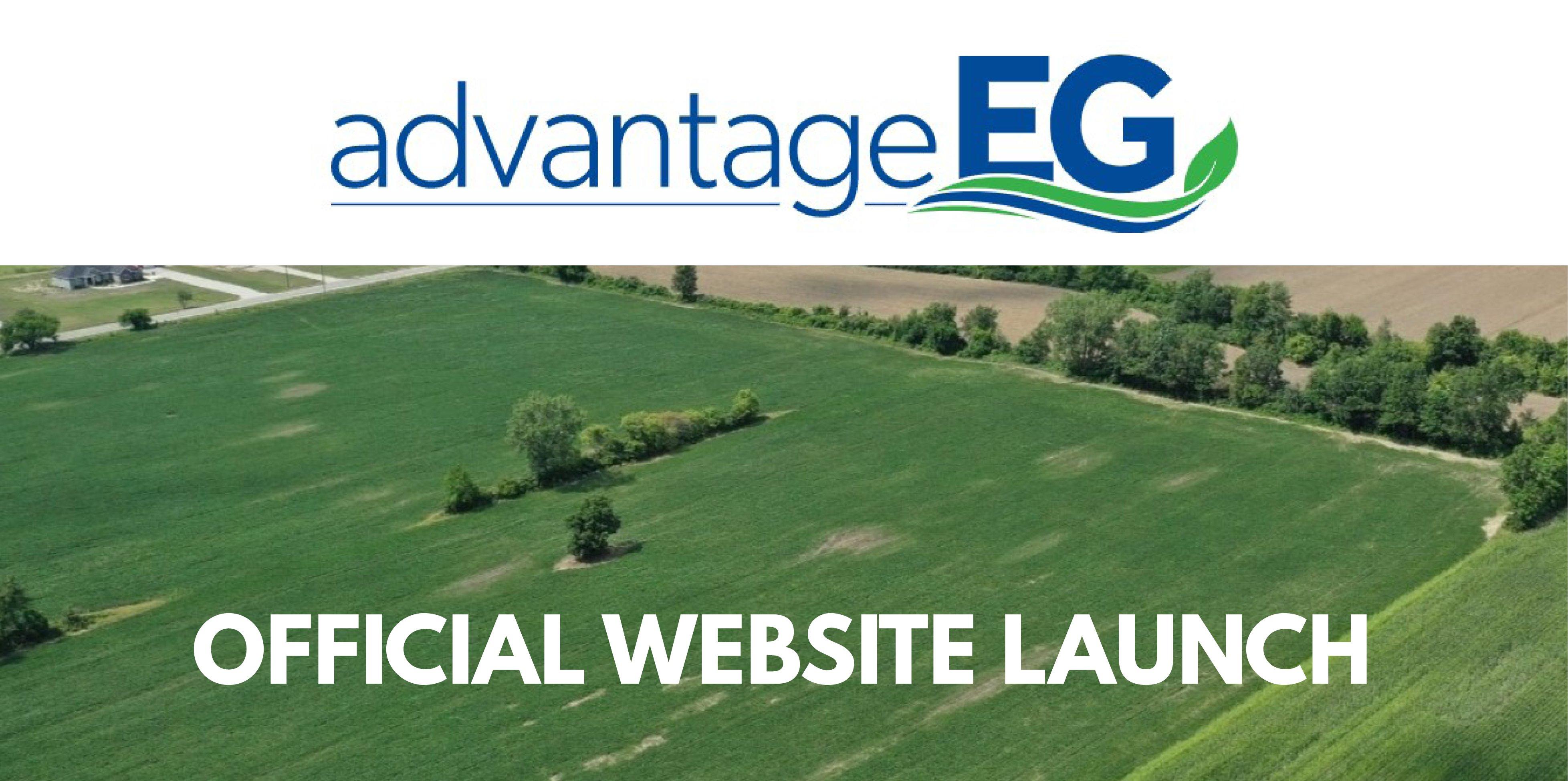 Advantage EG website header