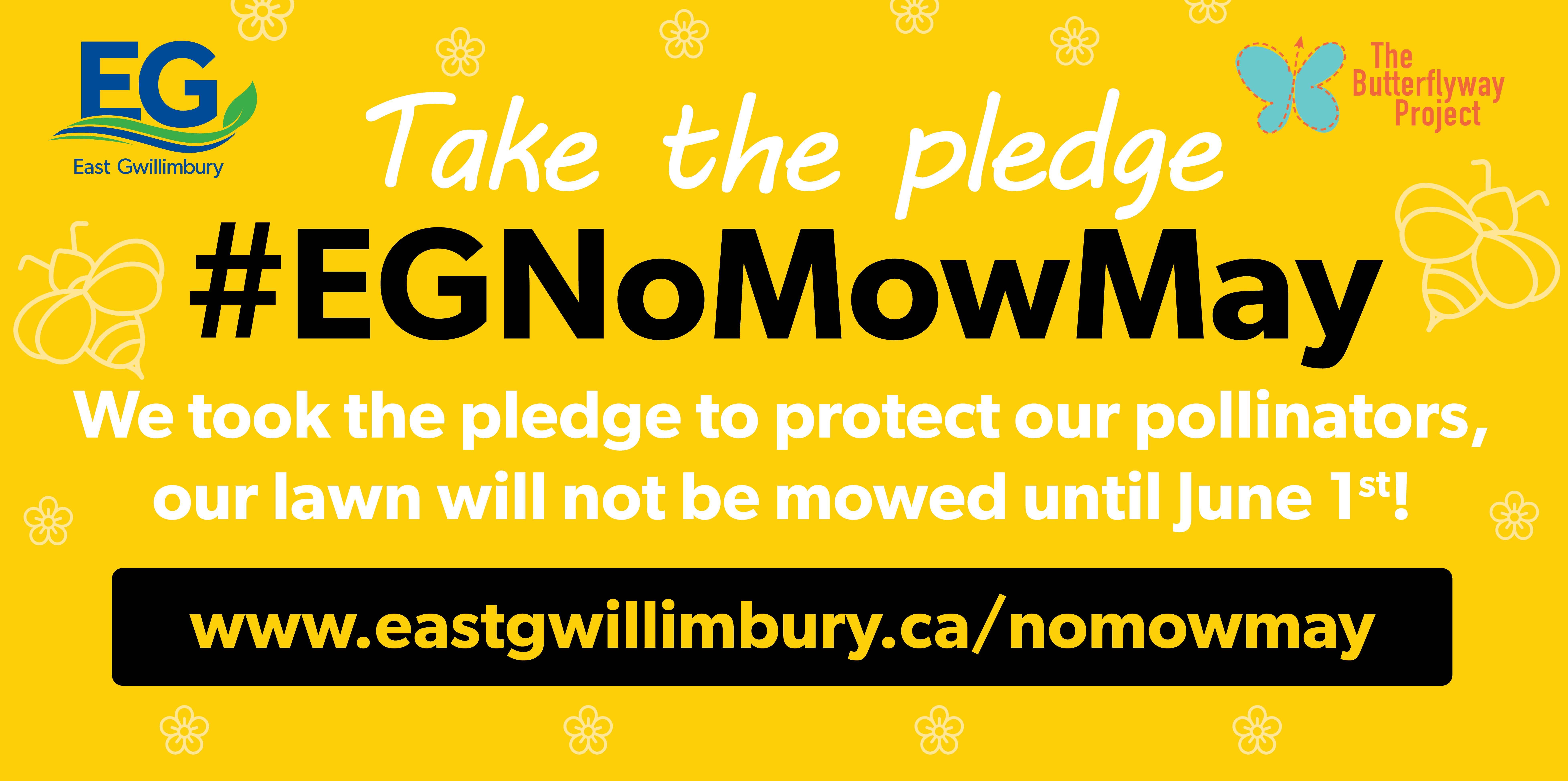 No Mow May Sign