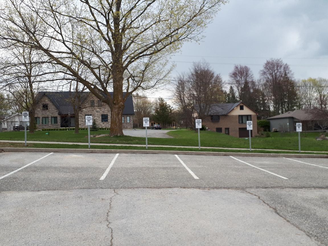 permit parking spots